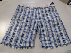 Men's Tommy Hilfiger 42 shorts 002 Iris 7847905 blue walk casual TH Short RARE #TommyHilfiger #shorts