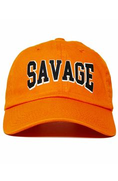 b793d040835 Nerdy Fresh Savage Alumni Dad Hat Snug fit unconstructed baseball cap  Strapback buckle Pre-curved Bill Low Crown designed and engineered in Los  Angeles