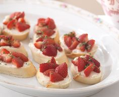 Tartlets. Now here's a classy dessert that you'd want to take home to meet the parents. Find more must-have party dish recipes @Ralphs Grocery