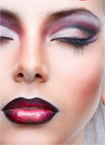 make-up- must learn how to do the two tone lips like that!