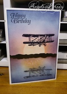 Birthday Card, Sky Is The Limit by CraftyAng - Cards and Paper Crafts at Splitcoaststampers