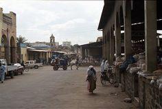 Asmara market, Eritrea