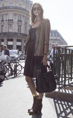 Parisian chic.