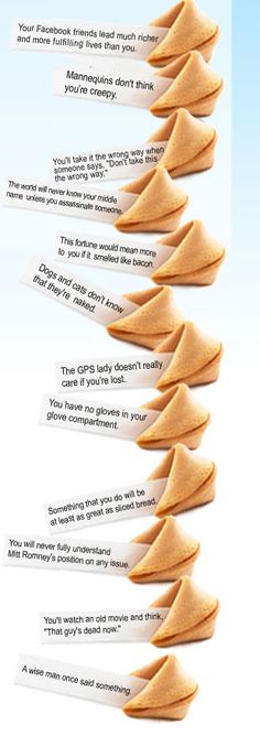 they will even customize them for you for special events. Funny Fortune Cookies, Fortune Cookie Quotes, Custom Fortune Cookies, Cookie Recipes, Snack Recipes, Snacks, Funny Fortunes, Sushi Party, Food Swap