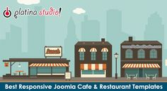 Best Free & Premium Responsive Joomla Cafe and Restaurant Templates & Themes #Joomla #Templates #Restaurant #Cafe #FoodBusiness