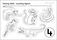 23 Best Kids Cut and Paste Worksheets images in 2012