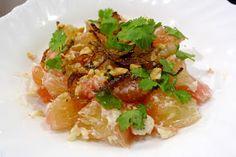 A Billion Chefs: Thai Pomelo Salad Recipe (Yam Som-o)