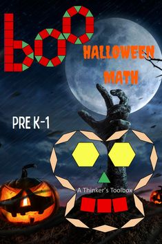 Engage your students with this fun and creative way to learn about shapes and symmetry while celebrating Halloween. #preschool #kinder #math #boo #witch #cauldron #broom #bat #moon #hat #skull Halloween Puzzles, Halloween Art Projects, Halloween Worksheets, Halloween Themes, Halloween Fun, Hard Puzzles, Fall Cleaning, Math Workshop, Cauldron