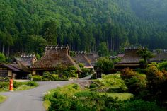 An old village in Kyoto