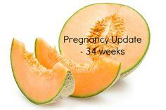 Weekly Pregnancy Symptoms & Update - 34 Weeks Pregnant - www.mamamim.com