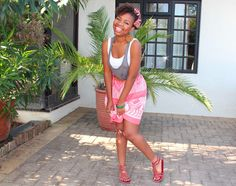 My Fro & I : A South African Natural Hair Blog: This week's looks