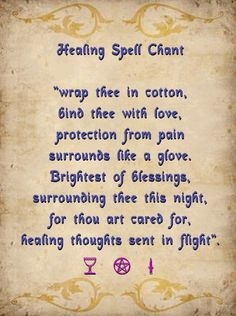 Chant for healing for another person