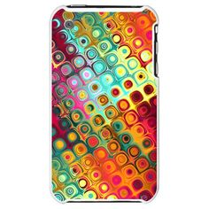 Techno Dots iPhone Case