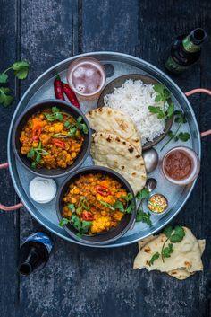 Sweet Potato & Cauliflower Dahl Curry
