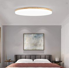 Ceiling Light Azanaz Wood Bathroom Ceiling Lamp Sora Wood with Warm White Light in Wood Look - Ceiling Spotlights for Bathroom - Hallway - Kitchen - Indoor Lamp with LED Light in Chic Wood Decor Ceiling Lights Uk, Bathroom Ceiling Light, Kitchen Ceiling Lights, Ceiling Light Design, Ceiling Spotlights, Ceiling Lamp, Living Room Kitchen, Living Room Bedroom, Bedroom Spotlights