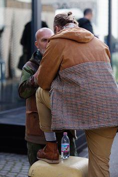 On the Street.... Men's Buns, Pitti Uomo