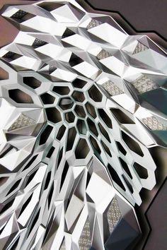 Zaha Hadid (1950 – 2016) Architects | King Abdullah Petroleum Studies and Research Center | Riyadh, Saudi Arabia | 2009 | http://www.zaha-hadid.com