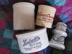 Le Grue's Creamery Lambrecht's Butter Advertising