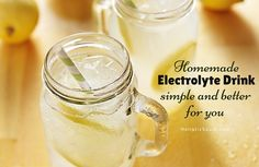 Homemade Electrolyte Drink – Simple and Better For You | Holistic Squid | Bloglovin'