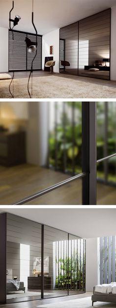Die riesigen Spiegelschiebetüren vom Design Kleiderschrank Crystel Dogato haben einen sanften Bremsmechanismus beim öffnen und schließen. #Kleiderschrank #Spiegelschiebetüren #Schiebetür #minimalistisch #Designschrank #Designkleiderschrank #Design #möbel #Spiegel #wardrobe #closet #minimalism #Schlafzimmer #bedroom #modern #interiordesign #interiordecorating #Einrichtungsideen #home #wohnen #einrichten #Wohnstil #wohnideen #Wohntrend #Inspiration #Inneneinrichtung
