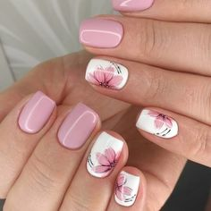 Best Nail Designs of 2019 – Latest Nail Art Trends – 17 These nail designs will be your indispensable. Stamp this summer with the latest trend nail designs. these great nail designs will perfect you. Now let's take a look at these designs Nail Design Spring, Fall Nail Art Designs, Spring Nail Art, Cute Nail Designs, Acrylic Nail Designs, Acrylic Nails, Coffin Nails, Pedicure Designs, Summer Nail Designs