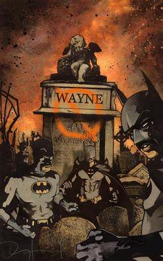 Batman by John Van Fleet