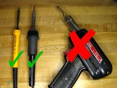 Picture of Choose the Right Soldering Utensil