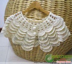 """Beautiful pattern """"cape"""", Beautiful """"mantello"""". Modello Commenti: LiveInternet - Russo di servizi online Diaries"""