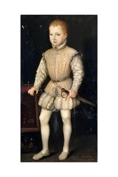1557 or 1558 François Bunel the Younger - Henry IV of France as a child