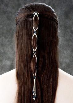Hair jewel wrap