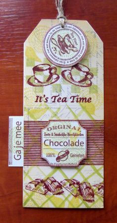 Ludiec tea time label