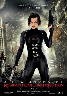 Resident Evil: Retribution 3D, dal 28 settembre al cinema.