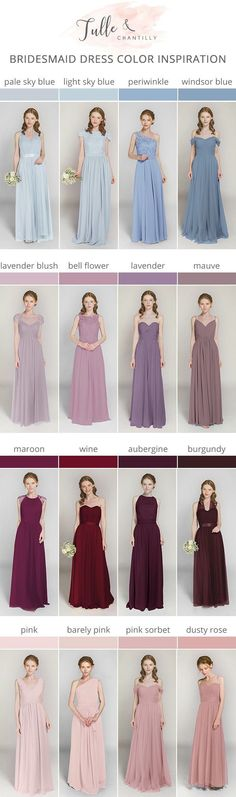 Decide on a best suited bridesmaid dress for the wedding ceremony. You must take into account the dresses which would certainly flatter your bridesmaids, simultaneously, match your wedding ceremony style. Bridesmaid Dress Colors, Wedding Bridesmaid Dresses, Wedding Gowns, Prom Dresses, Wedding Ceremony, Light Blue Bridesmaid Dresses, Wedding Suits, Bridal Gowns, Red Wedding