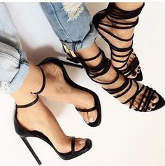 Image: Outstanding Shoes & Fashion Outfit. Would Combine With Any Piece Of Clothes..