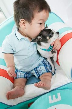 """Will from """"The Little Couple and Rocky.""""  Too cute!"""