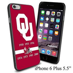 "NCAA OU OKLAHOMA , Cool iPhone 6 Plus (6+ , 5.5"") Smartphone Case Cover Collector iphone TPU Rubber Case Black Phoneaholic http://www.amazon.com/dp/B00VVQ6MB8/ref=cm_sw_r_pi_dp_CR9mvb0F5AFRA"