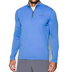 Under Armour UA Threadborne Siro  Zip XXXLarge Water >>> Details can be found by clicking on the image.Note:It is affiliate link to Amazon.