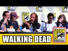 THE WALKING DEAD Comic Con 2016 Panel Highlights Pt1 - Norman Reedus, Andrew Lincoln, Chandler Riggs - YouTube
