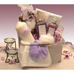 The Gift Basket Gallery Spa and Bath Relaxation « Delay Gifts