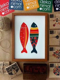 Luxus Wandtattoo Sea Food Lobster Stamp 58cm Neu