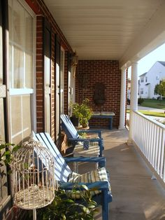 front porch decorating ideas summer   Front Porch Fun, This is my front porch, and I started by falling in ...