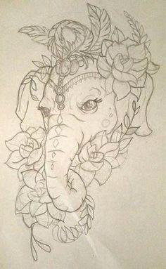 Super Tattoo Elephant Drawing Trunks Ideas Super Tattoo Elephant Drawing Trunks IdeasYou can find Elephant tattoo design and more on . Unique Tattoos, Cute Tattoos, Beautiful Tattoos, Body Art Tattoos, Sleeve Tattoos, Arm Tattoo, Ganesh Tattoo, Faith Tattoos, Rib Tattoos