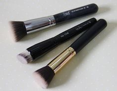 pincel para base líquida e sombras | Coisas De Diva - Resenhas de cosméticos…