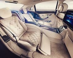 Stunning Maybach interior - living the life of luxury  #maybach #luxury #luxurycars #happydriving #carporn #awesome