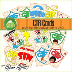 CTR UNO Card Game - Downloadable PDF Only