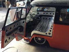 custom speed hole sheet metal seat and interior panels