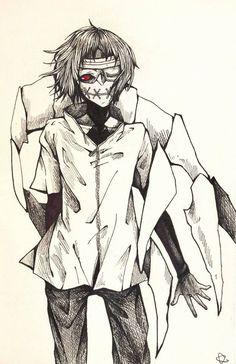 Tooru Mutsuki with mask on - Tokyo Ghoul re: