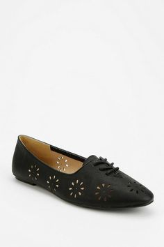 Cooperative Floral Cutout Oxford #urbanoutfitters