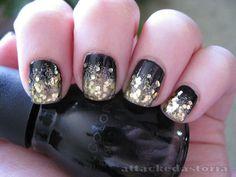 black + sparkle