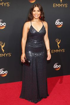 America Ferrera in Jenny Packham @ the 2016 Emmy Awards